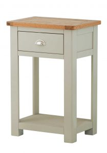 Classic Portland Painted Stone Small Console Table