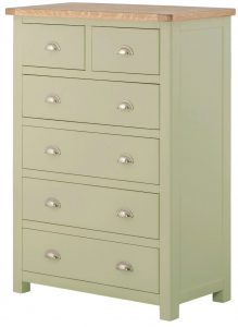 Classic Portland Painted Sage 2 over 4 Chest