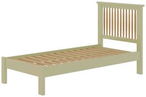 Classic Portland Painted Sage 3′ Single Bed