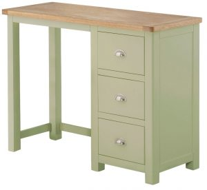 Classic Portland Painted Sage Dressing Table