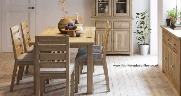 Bretagne Oak 3 Door 3 Drawer Sideboard   Fully Assembled