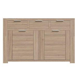 Laguna Oak Large Sideboard | Fully Assembled