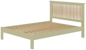 Classic Portland Painted Sage 4'6″ Double Bed