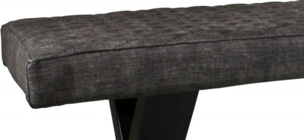 Classic Fusion Small Upholstered 1.4m Dining Bench