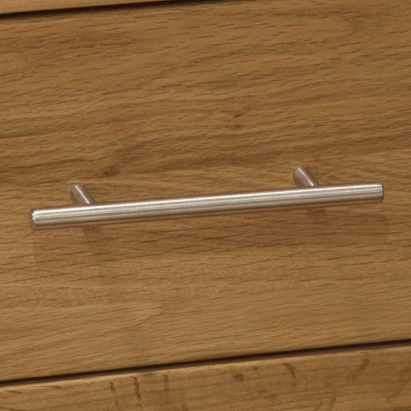 Homestyle Opus Solid Oak Single Wardrobe