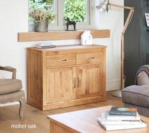 Baumhaus Mobel Oak Small Sideboard