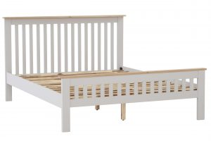 Besp-Oak Vancouver Compact Grey 4'6″ Double Bed