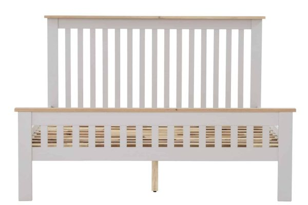 Besp-Oak Vancouver Compact Grey 5′ King Size Bed