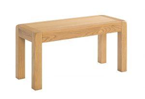 Avon Waxed Oak 90cm Dining Bench