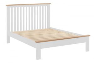 Classic Portland Painted White 5′ King Size Bed