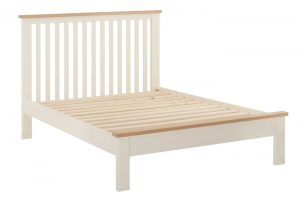 Classic Portland Painted Cream 4'6″ Double Bed