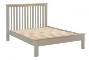 Classic Portland Painted Stone 4'6″ Double Bed