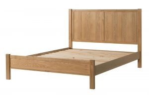 Devonshire Burford Oak 4` 6″Double Bed
