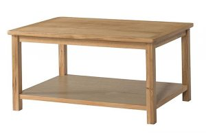 Devonshire Burford Oak Coffee Table with Shelf