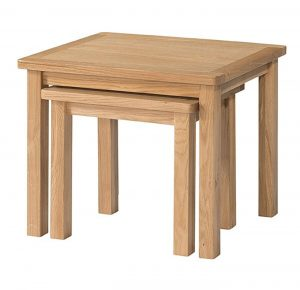 Devonshire Burford Oak Nest of Tables | Fully Assembled