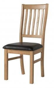 Devonshire Burford Oak Dining Chair (Pair)