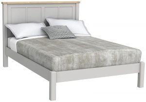 Bretagne Painted 4'6″ Double Bed
