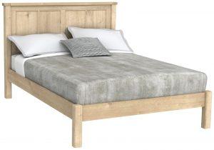Bretagne Oak 4'6″ Double Bed