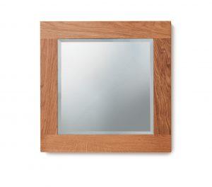 Baumhaus Mobel Oak Bathroom Collection – Solid Oak Mirror (Small)