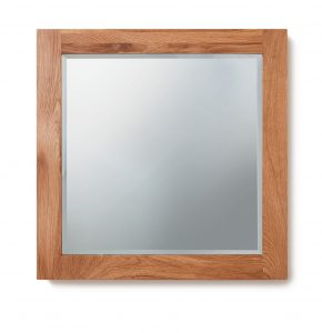 Baumhaus Mobel Oak Bathroom Collection – Solid Oak Mirror (Large)