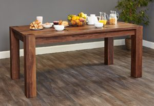 Baumhaus Shiro Solid Walnut Dining Table (6-8 seater)