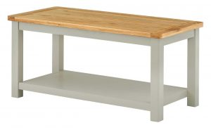 Classic Portland Painted Stone Coffee Table