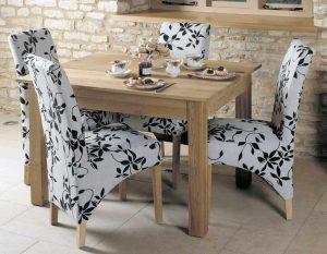 Baumhaus Mobel Oak Dining Table (4 Seater)
