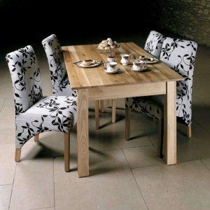Baumhaus Mobel Oak 150cm Dining Table (4/6 Seater)