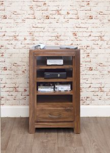 Baumhaus Mayan Walnut Entertainment Unit