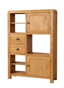 Avon Waxed Oak High Display Unit | Fully Assembled