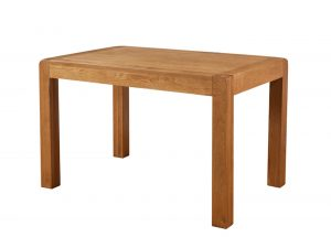 Avon Waxed Oak Small Fixed Top Dining Table