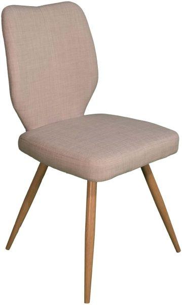 Enka Dining Chair – ivory (Pair)