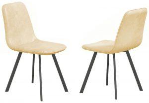 Delta Dining Chair – cream (Set of 4)