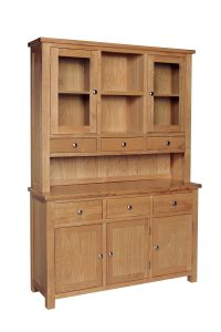 Devonshire Dorset Oak Dresser (complete unit)