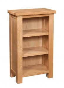 Devonshire Dorset Oak Small Bookcase | Fully Assembled
