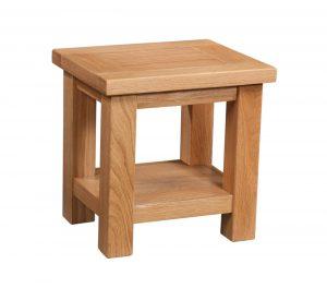 Devonshire Dorset Oak Lamp Table