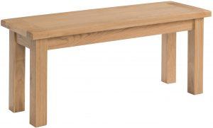 Devonshire Dorset Oak 90cm Dining Bench