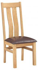 Devonshire Dorset Oak Arizona Chair (Pair) | Fully Assembled