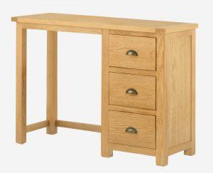 Classic Portland Oak Dressing Table