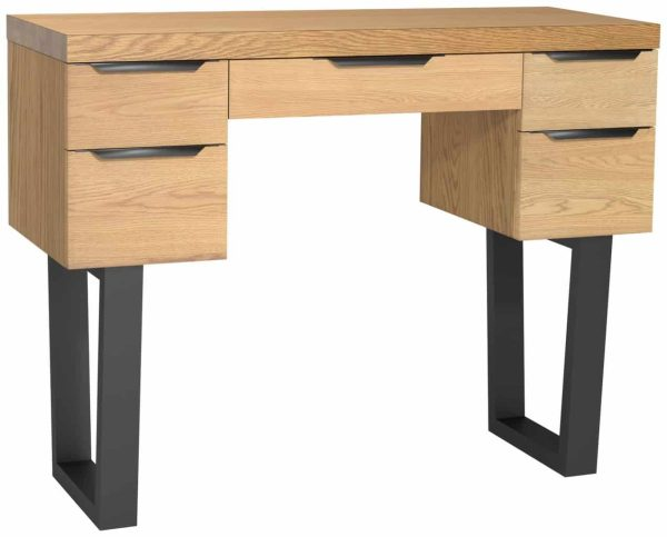 Classic Fusion Industrial Oak Dressing Table