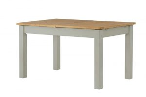 Classic Portland Painted Stone 1.4m Extending Dining Table
