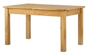 Classic Portland Oak 1.4m Extending Dining Table