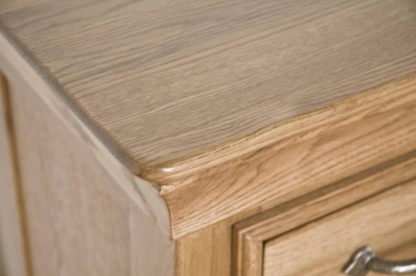 Normandy French Solid Oak 2 Over 2 Chest
