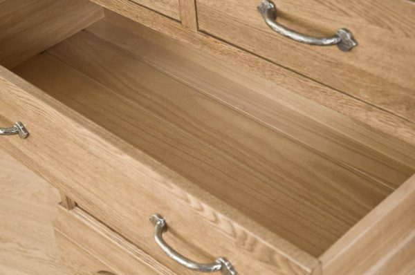 Normandy French Solid Oak 2 Over 3 Chest