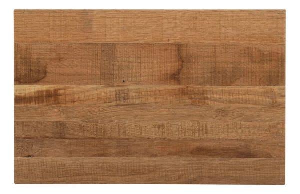 Besp-Oak Vancouver Sawn Oak Nest of 3 Tables   Fully Assembled