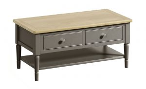 Classic Harmony Painted Pewter Coffee Table