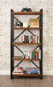 Baumhaus Urban Chic Large Open 5 Shelf Bookcase