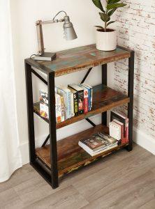 Baumhaus Urban Chic Low 3 Shelf Bookcase