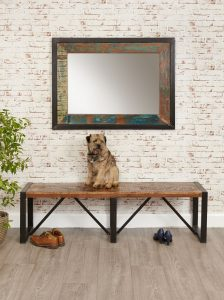 Baumhaus Urban Chic Large Mirror | Fully Assembled