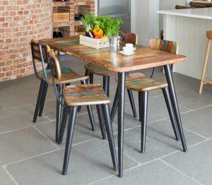 Coastal Chic Large Rectangular Dining Table
